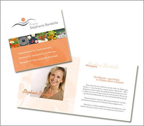 Praxis Stephanie Bardehle – Flyer