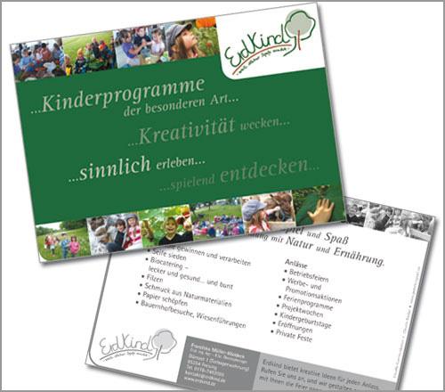 Erdkind – Flyer/Postkarte