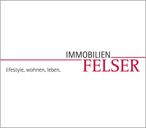 Immobilien Felser – Logoentwicklung