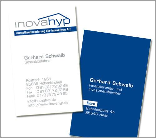 Inovahyp – Visitenkarte