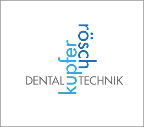 kupfer|rösch Dentaltechnik – Logoentwicklung
