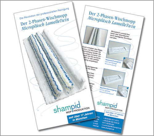 Shampid Mopproduktion – Flyer