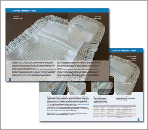 Shampid Mopproduktion – Katalog
