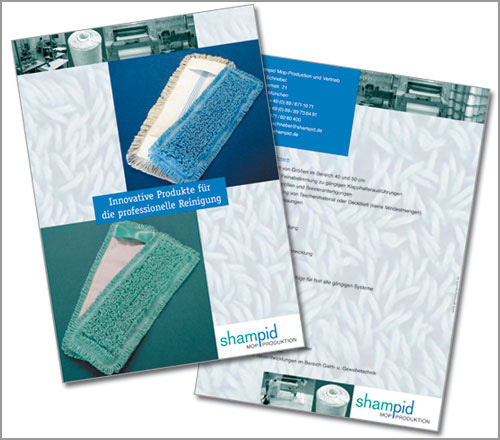 Shampid Mopproduktion – Prospekt