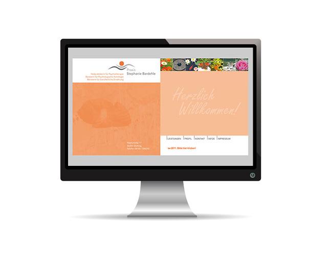 Webauftritt – Praxis Stephanie Bardehle
