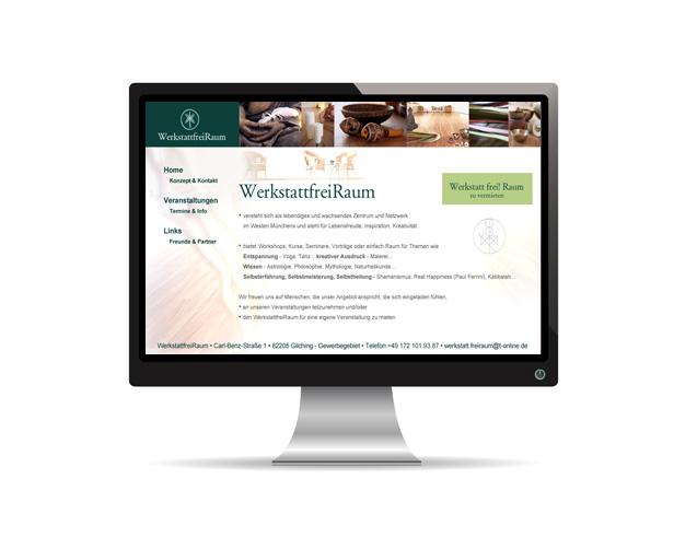 Webauftritt – WerktattfreiRaum