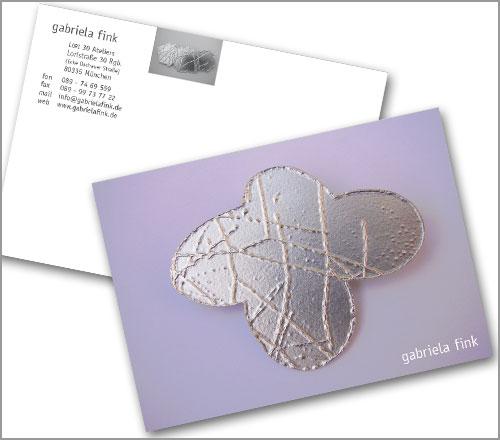 gabriela fink | SCHMUCK – Postkarte