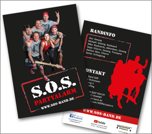 S.O.S.-Band – Flyer