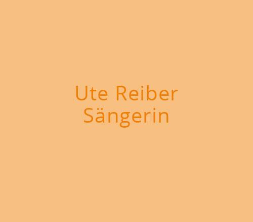 Print-Design – Ute Reiber | Sängerin