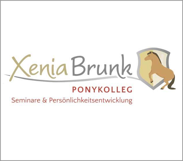 Ponykolleg | Xenia Brunk – Logorelaunch