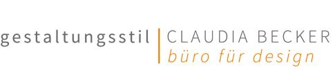 gestaltungsstil | CLAUDIA BECKER | büro für design